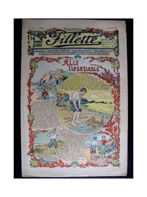 FILLETTE (SPE) 1912 N°131 ALIX L'INSATIABLE (Poupée Fillette – Robe Daisy)