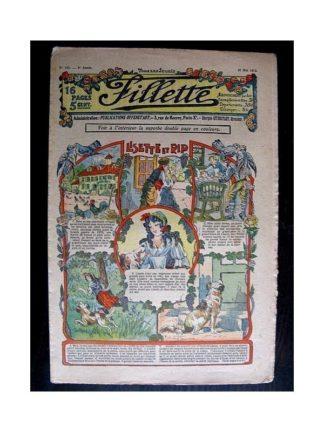 FILLETTE N°135 (16 mai 1912) LISETTE ET RIP