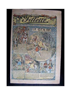 FILLETTE (SPE) 1912 N°143 LA CLE DE FER (Poupée Fillette – Robe marinière)
