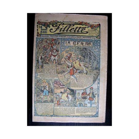 FILLETTE N°143 (11 juillet 1912) LA CLE DE FER