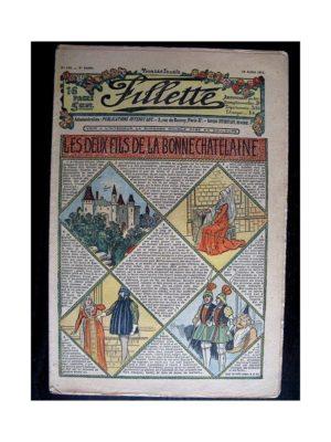 FILLETTE (SPE) 1912 N°144 LES DEUX FILS DE LA BONNE CHATELAINE (Poupée Fillette – Bonnet de nuit)