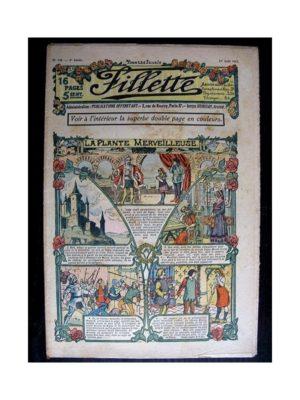 FILLETTE (SPE) 1912 N°146 LA PLANTE MERVEILLEUSE (Poupée Fillette – Liseuse en broderie anglaise et plumetis)