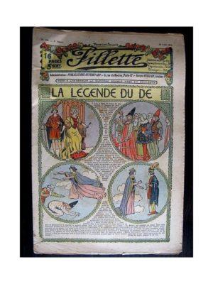 FILLETTE (SPE) 1912 N°150 La légende du dé (Poupée Fillette – Jupon)