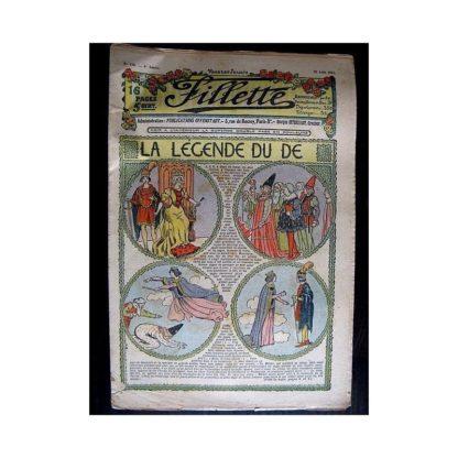 FILLETTE N°150 (29 août 1912) LA LEGENDE DU DE
