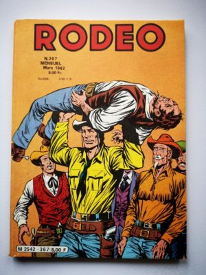 RODEO N° 367 TEX WILLER - Tucson (3e partie) LUG 1982