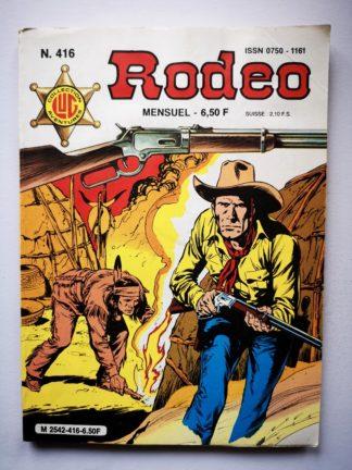 RODEO N° 416 TEX WILLER - La bande à Durbin (fin) LUG BD
