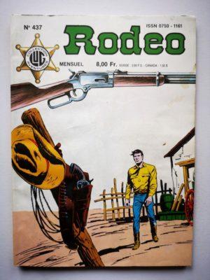 RODEO N°437  TEX WILLER – Un ranger du Texas (3e partie) LUG 1988