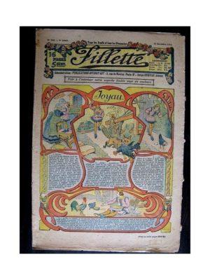FILLETTE (SPE) 1912 N°180 JOYAU (Poupée Fillette – Fond de corsage)