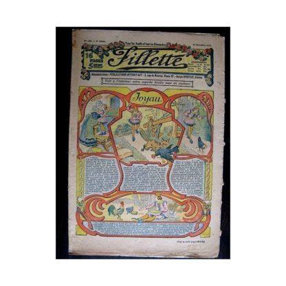 FILLETTE N°180 (26 décembre 1912) JOYAU