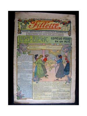 FILLETTE (SPE) 1912 N°181 LILAS BLANC