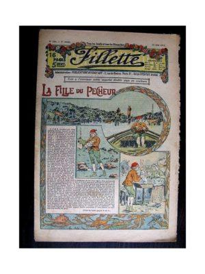 FILLETTE (SPE) 1913 N°228 LA FILLE DU PECHEUR (Poupée Fillette – Costume de bain – Corsage)