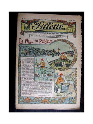 FILLETTE N°228 (12 juin 1913) LA FILLE DU PECHEUR