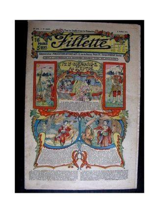 FILLETTE N°234 (3 juillet 1913) DE LA QUENOUILLE AU SCEPTRE