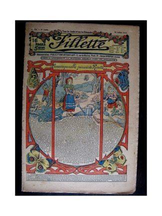 FILLETTE N°236 (10 juillet 1913) L'INCOMPARABLE PARURE DE ROSETTE