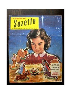 LA SEMAINE DE SUZETTE 48e année N°4 (1956) PEGGY PETIT OISEAU SANS AILES (suite)