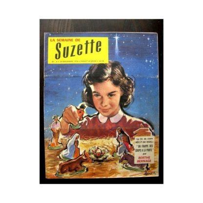 LA SEMAINE DE SUZETTE 48e année N°4 (1956) LE SECRET DE JHOR (suite)