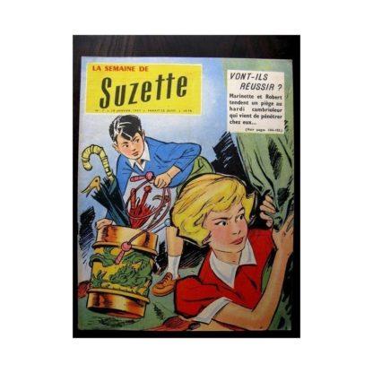 LA SEMAINE DE SUZETTE 48e année N°6 (1957) UN GRAND ARTISTE