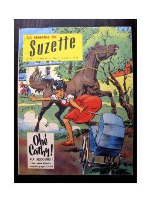 LA SEMAINE DE SUZETTE 48e année N°20 (1957) OHE CATHY! AU SECOURS…