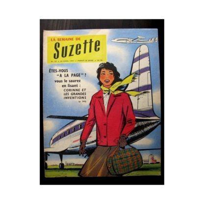 LA SEMAINE DE SUZETTE 48e année N°22 (1957) PEGGY PETIT OISEAU SANS AILES
