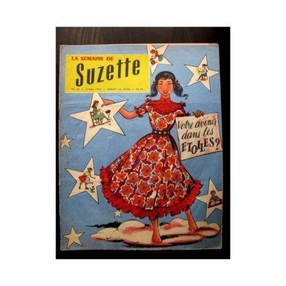 LA SEMAINE DE SUZETTE 48e année N°24 (1957) VOTRE AVENIR DANS LES ETOILES ?