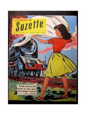 LA SEMAINE DE SUZETTE 48e année N°27 (30 mai 1957) LE SECRET DE L'AUTOMATE