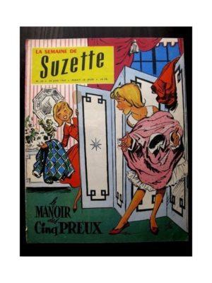 LA SEMAINE DE SUZETTE 48e année N°30 (20 juin 1957) LE MANOIR DES CINQ PREUX