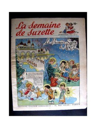La Semaine de Suzette n°3 (20 décembre 1951) LE PREMIER SAPIN DE NOEL