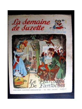 La Semaine de Suzette n°22 (1er mai 1952) LE MARCHAND DE FANTOCHES / COQUIN LE PETIT COCKER