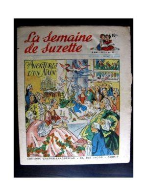La Semaine de Suzette n°23 (8 mai 1952) AVENTURES D'UN NAIN / COQUIN LE PETIT COCKER