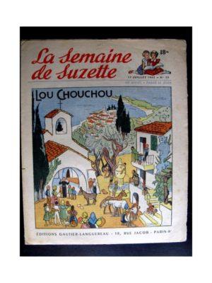 La Semaine de Suzette n°33 (17 juillet 1952) LOU CHOUCHOU / COQUIN LE PETIT COCKER