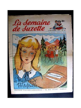 La Semaine de Suzette n°49 (6 novembre1952) LE MYSTERIEUX PORTEFEUILLE (ML Pécourt)