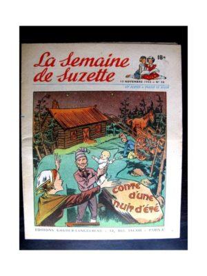 La Semaine de Suzette n°50 (13 novembre1952) CONTE D'UNE NUIT D'ETE / GUERRE CHEZ LES CHAMPIGNONS