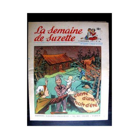 La Semaine de Suzette n°50 (13 novembre1952) CONTE D'UNE NUIT D'ETE