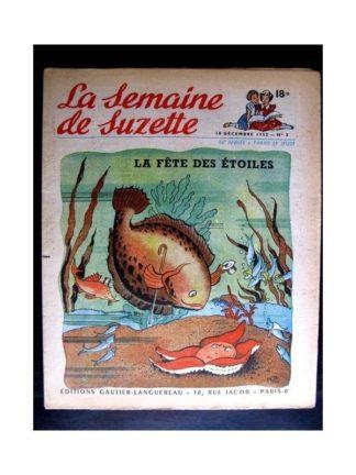 La Semaine de Suzette n°3 (18 décembre1952) LA FETE DES ETOILES (Edith Follet)