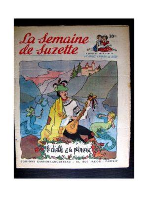 La Semaine de Suzette n°31 (2 juillet 1953) LE DIABLE ET LA PRINCESSE