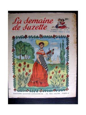 La Semaine de Suzette n°33 (16 juillet 1953) LE DOMAINE DE SOLEIL (Pierre Sels)