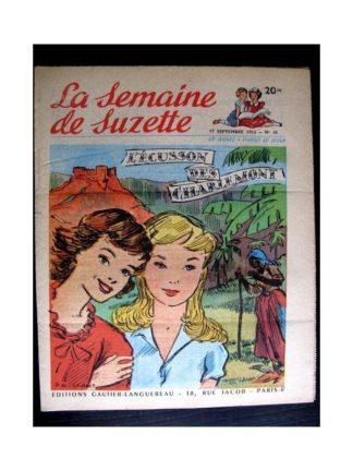 La Semaine de Suzette n°42 (17 septembre 1953) L'ECUSSON DES CHARLEMONT (Paul de Combret)