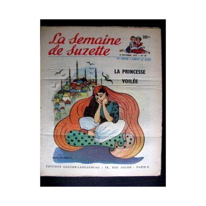 La Semaine de Suzette n°45 (8 octobre 1953) LA PRINCESSE VOILEE (M. Van Schoote)