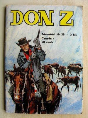 Don Z N°28 – L'ATTAQUE DE FORT ROYAL (Jeunesse et Vacances 1975)
