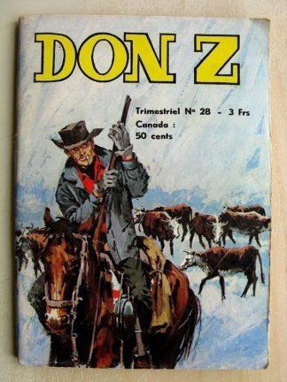 Don Z N°28 - L'ATTAQUE DE FORT ROYAL (Jeunesse et Vacances 1975)