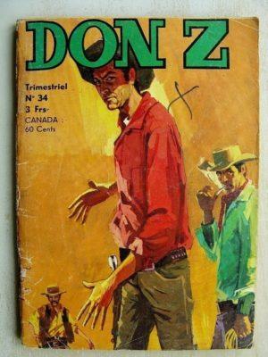 Don Z N°34 – L'ESMERALDA (Jeunesse et Vacances 1976)