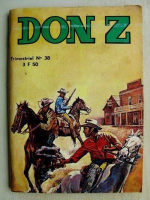 Don Z N°38 - LA BOTTE DU MARECHAL (Jeunesse et Vacances 1977)