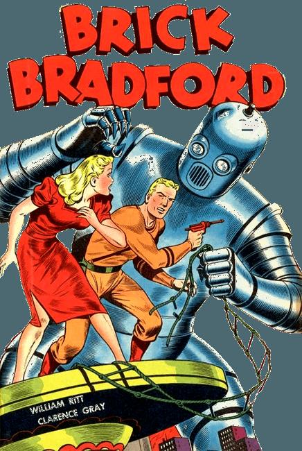Brick Bradford alias Luc Bradefer : héros de science fiction