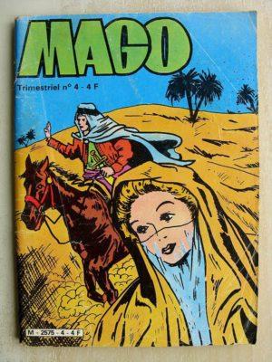 MAGO N°4 – CAGLIOSTRO LA PRESENCE DE LA MORT (Jeunesse et Vacances 1980)