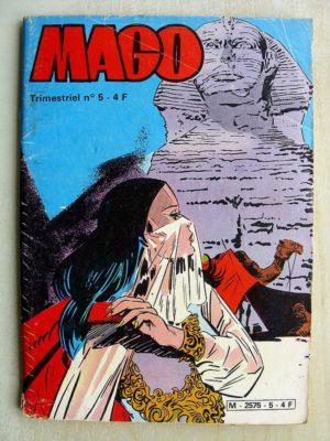 MAGO N°5 – CAGLIOSTRO AU ROYAUME DES OMBRES (Jeunesse et Vacances 1981)