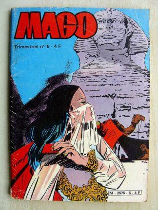 MAGO N°5 - CAGLIOSTRO AU ROYAUME DES OMBRES (Jeunesse et Vacances 1981)
