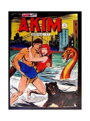 AKIM (1e série) N°542 – L'ENIGME DE SFEROX (Mon Journal 1982)