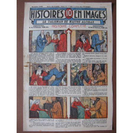 LE TALISMAN DE MAITRE ALCIBAR (fou du roi, narcotique) WW.