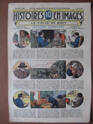LA VISITE DE NUIT (médecin, blessé, masques) WW.