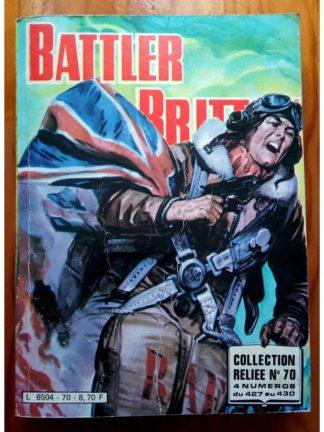 BATTLER BRITTON ALBUM RELIE N°70 (427,428,429,430) IMPERIA 1983